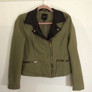 Forever 21 jacket, Army green, size large